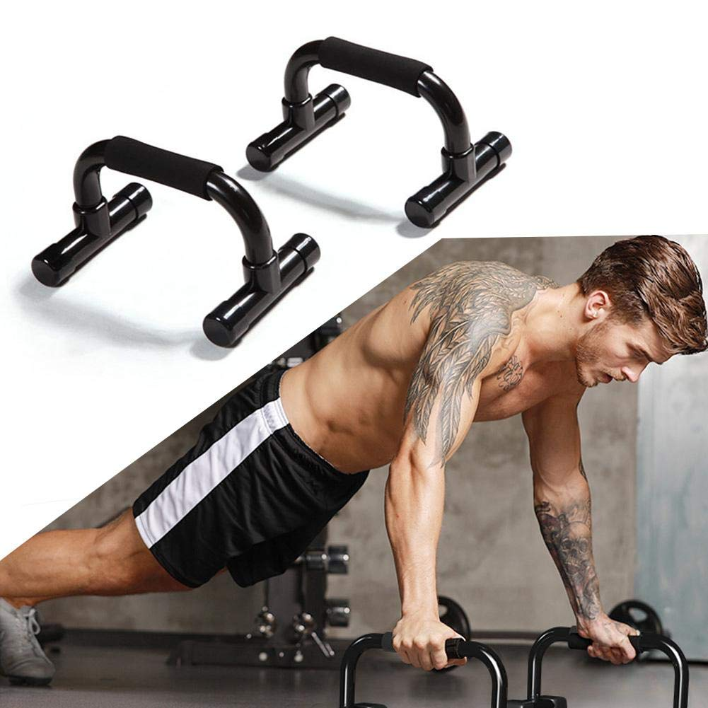 with Foam Grip and Non-Slip Handles Structure Push Up Bars Strength Training
