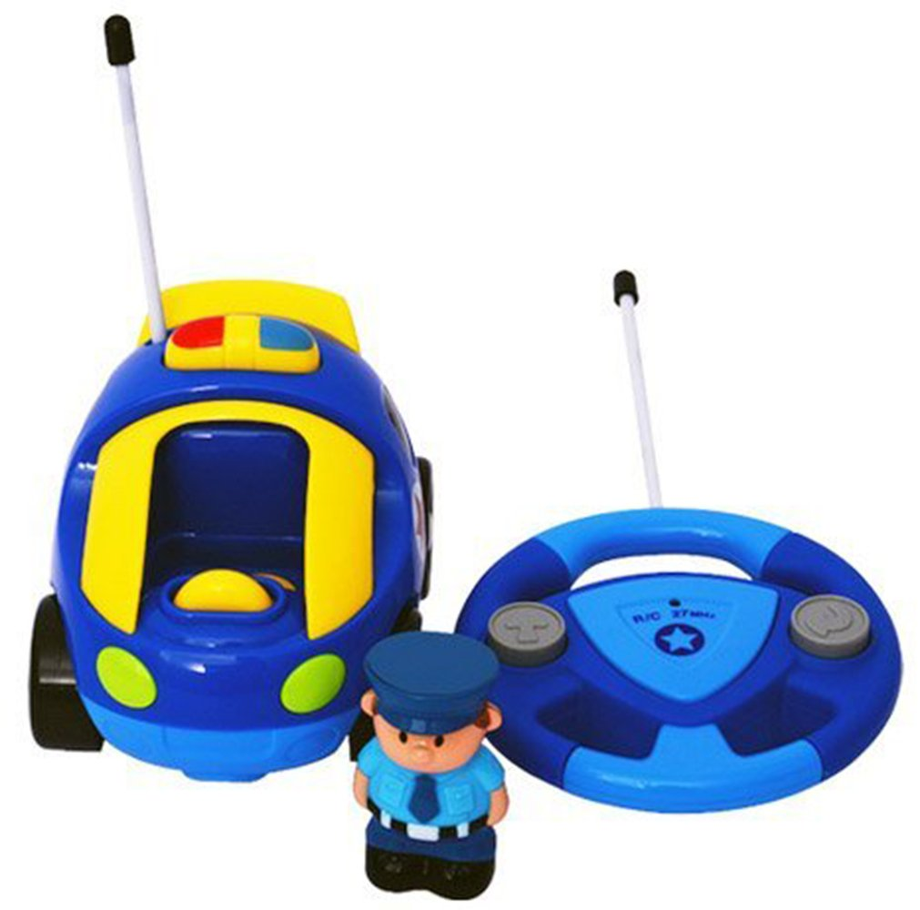 holy stone cartoon r c police car remote control toys for toddlers