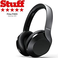 Philips Performance PH805 Wireless Bluetooth Active Noise Canceling Over Ear Stereo Performance Headphones with Hi-Res…