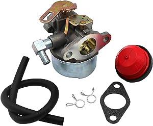 KIPA Carburetor for Tecumseh 632107A 632107 640084 640084A 640084B Toro 521 HSSK40 HSSK50 HS50 LH195SA 5Hp MTD Snow Blower with Mounting Gasket