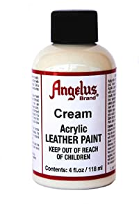 Angelus Leather Paint 4 Oz Cream