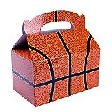 Treat Boxes Bundle by Imprints Plus Includes (12 Pack) Plus Non-Negotiable Million Dollar Bill (Basketball)