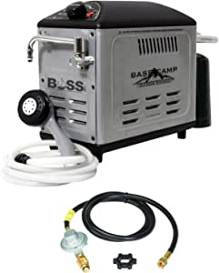 Mr. Heater BaseCamp BOSS-XW18 Battery Operated Shower System w/Extra 12Ft Hose