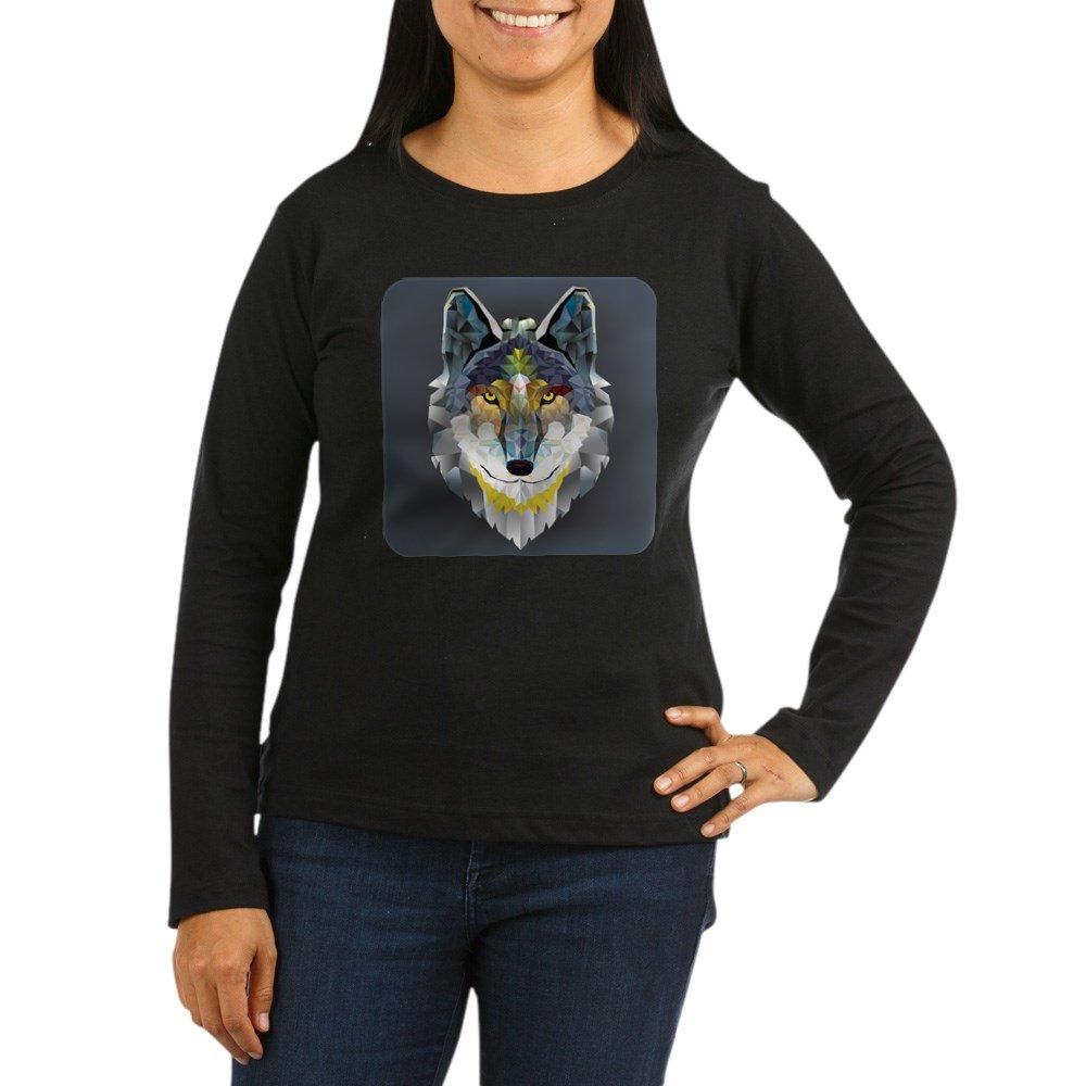 Royal Lion Dk T Shirt Geometric Wolf 4265