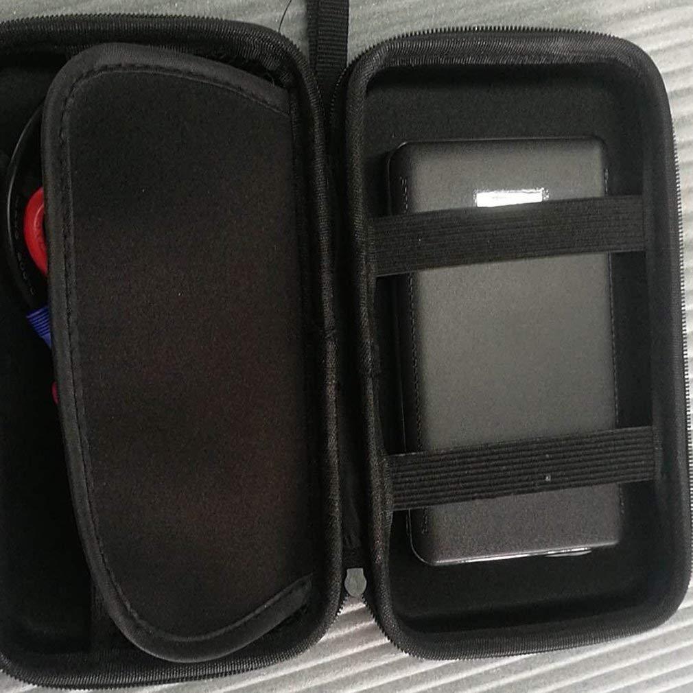 leoboone 30000mAh Portable Car Jump Starter Pack Booster LED Chargeur de batterie Alimentation Banque urgence D/émarrage Portable Alimentation