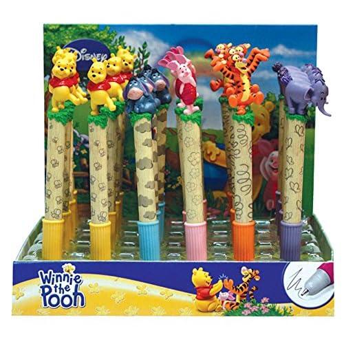 Toy Joy Joy Toy–180011–24–Winnie et ses amis 24Stylos personnages en 3D