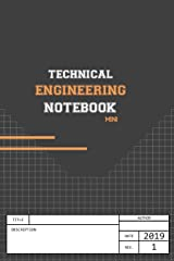 Technical Engineering Notebook: 2019 (Engineering IRL Notebooks) Paperback