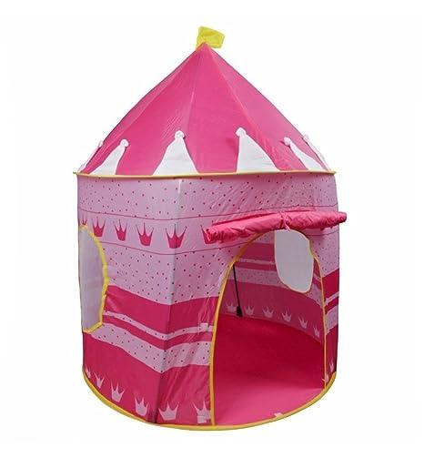 Amazon Com Diy Creations Girl Pink Play Tent Crown Princess Castle