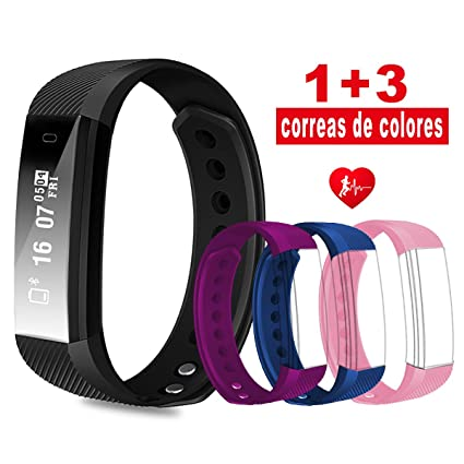 micro-K plusFitness Tracker, pulsera Fitness impermeable ...