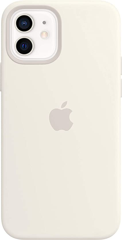 Apple Silicone Case with MagSafe for iPhone 12 and iPhone 12 Pro  White at Kapruka Online for specialGifts