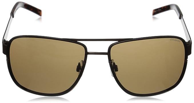 Amazon.com: Polaroid Sunglasses Mens PLD2025S Polarized Rectangular Sunglasses, Brown & Brown Polarized, 63 mm: Clothing