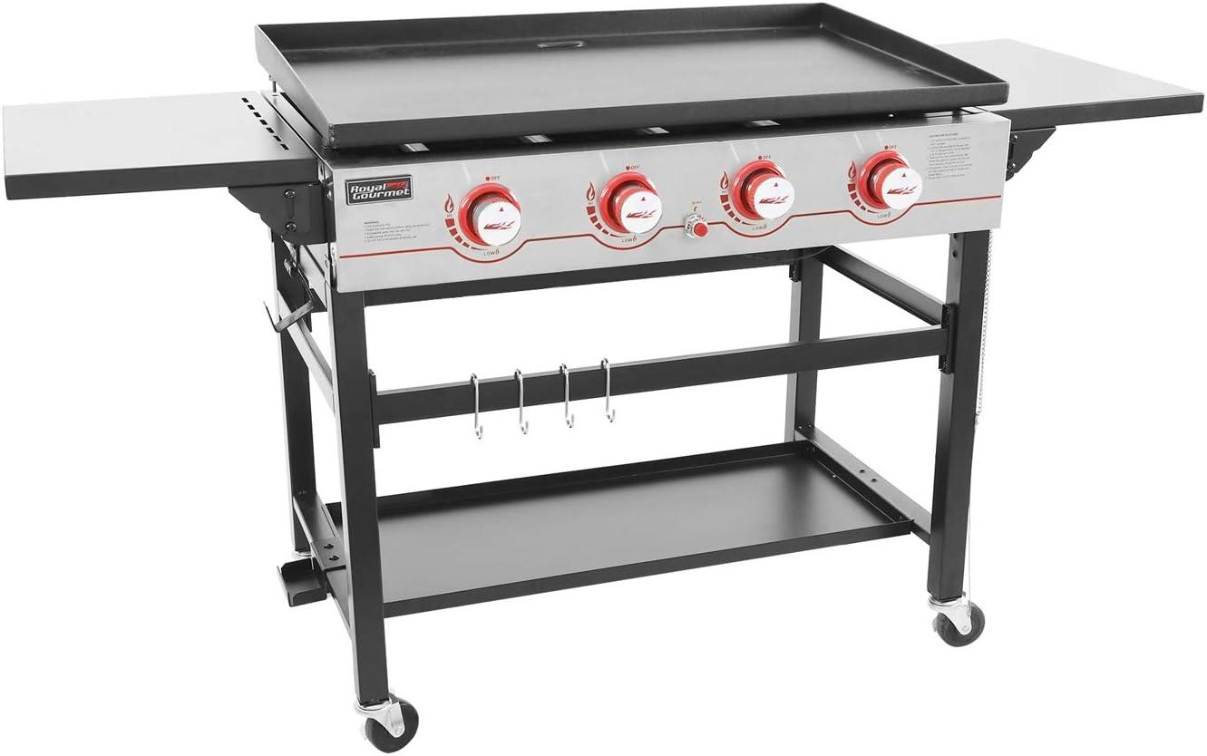 Royal Gourmet GB4000 36-inch 4-Burner best flat top grill