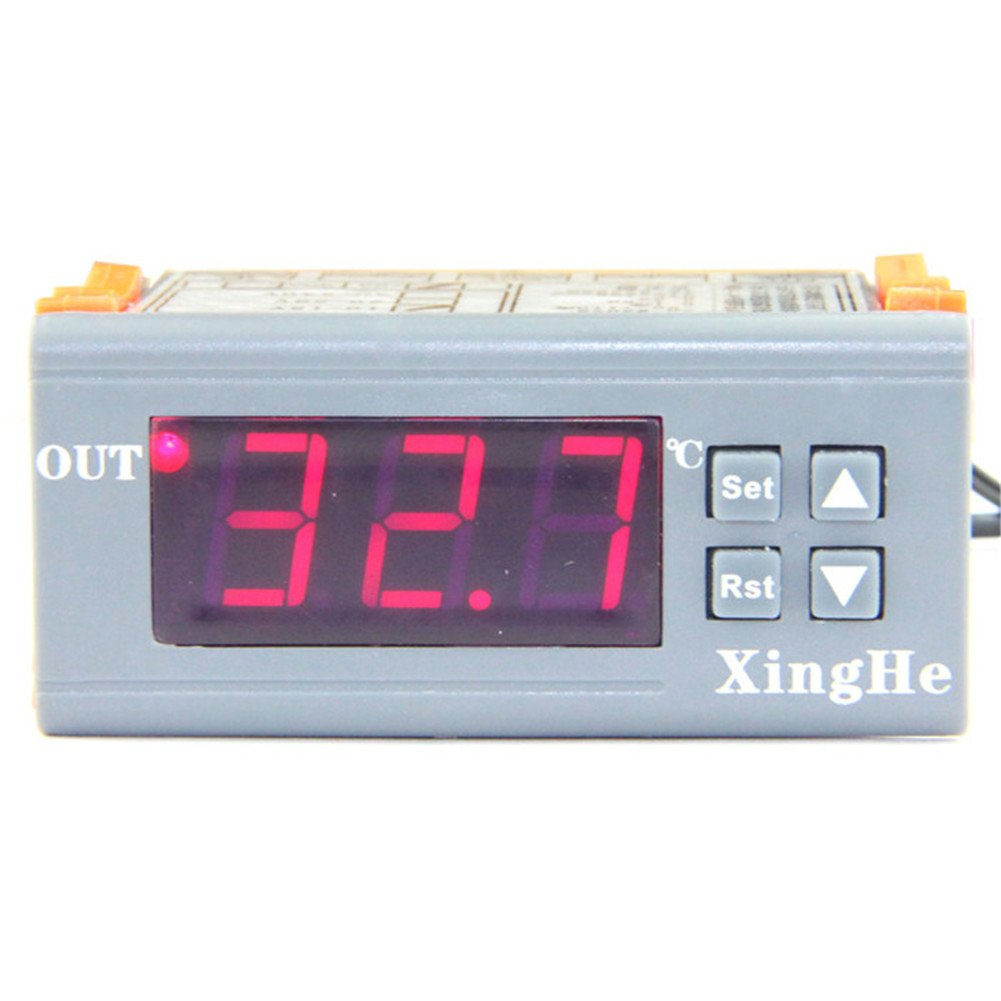 Digital Temperature Controller Micro Thermostat 12V Temperature Difference Control Switch