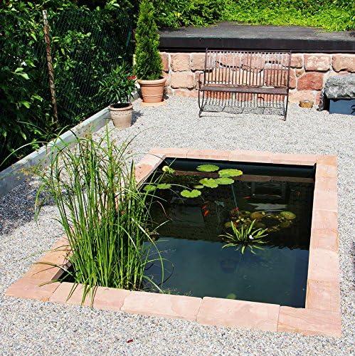 Agua Platillos, 750 L – El estanque Moderno Platillos de la firma haslb esquina: Amazon.es: Jardín