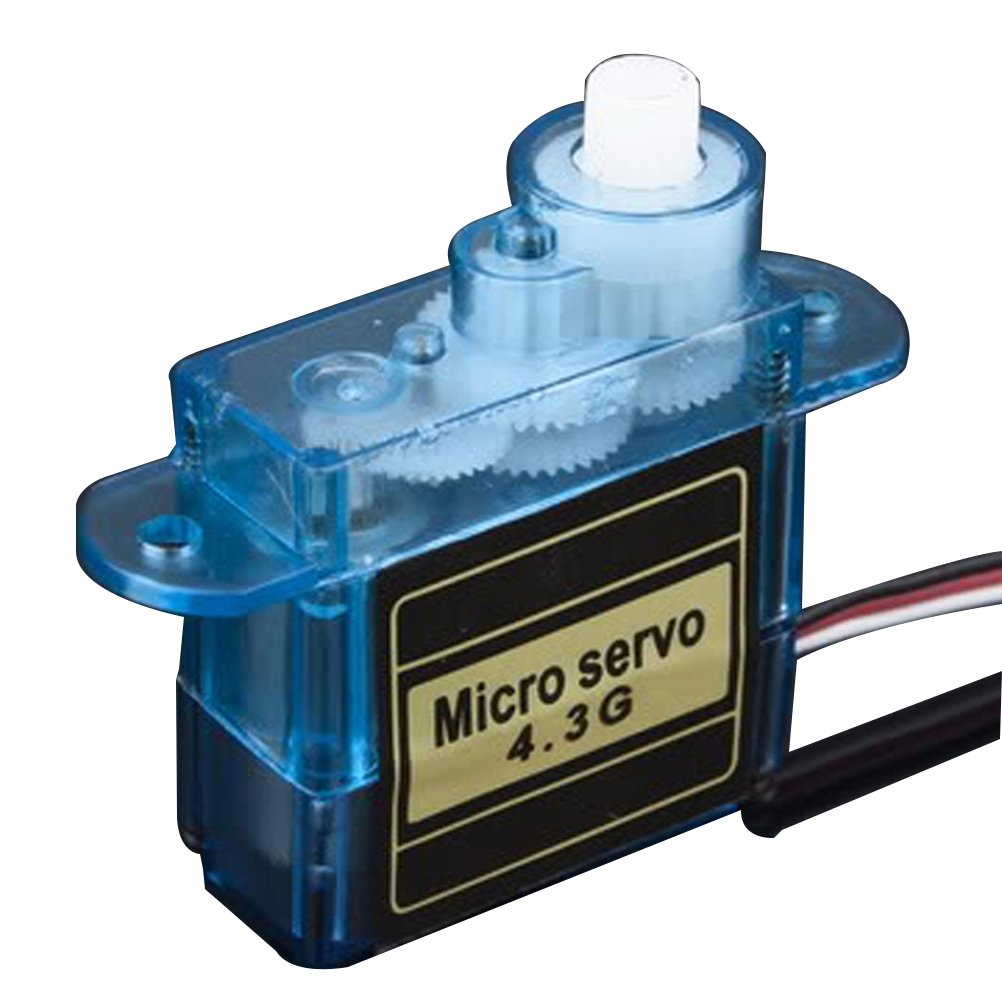 Frcolor Professional 4.3g Mini Kunststoffgetriebe Analog Servo fü r RC Hubschrauber Flugzeug