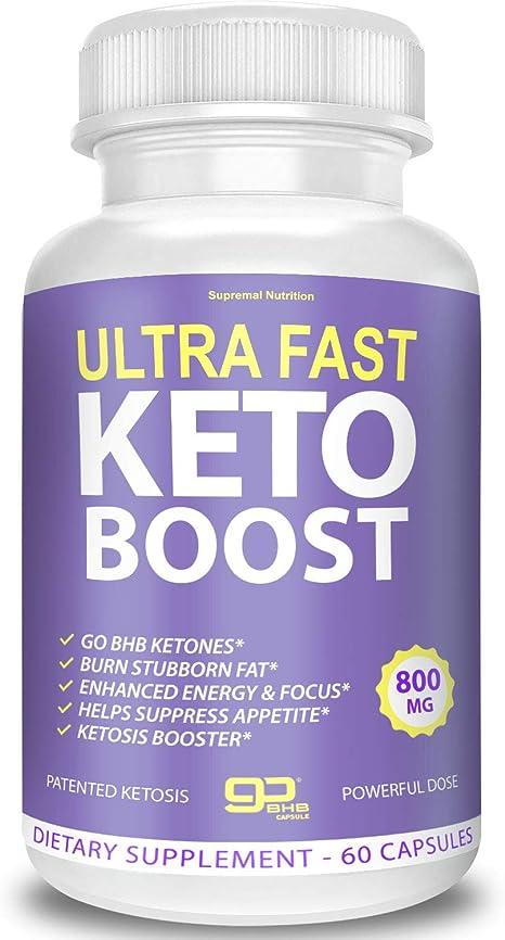 Amazon.com: Supremal Nutrition - Ultra Fast Keto Boost, none ...