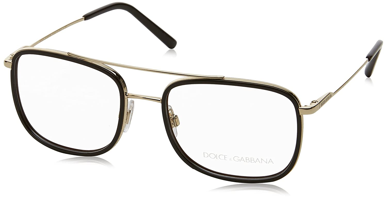 5bc16965d2d7 Amazon.com  Eyeglasses Dolce  amp  Gabbana DG 1288 488 PALE GOLD BROWN   Clothing