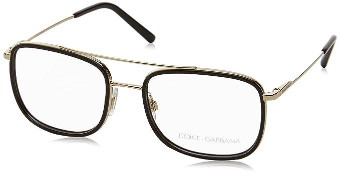 Amazon.com: Dolce & Gabbana de los hombres dg1288 Eyeglasses ...