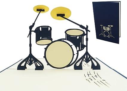 Lin, Pop Up Tarjetas Música, 3d Tarjetas de felicitación ...