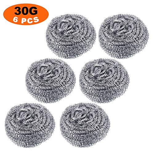 pot scrubber stainless steel - 9
