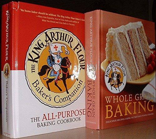 The King Arthur Flour Baking Cookbooks All-Purpose Baking & Whole Grain Baking (Two Volumes) [2003]