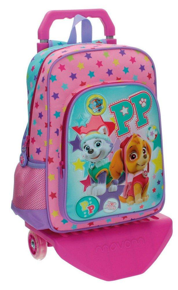 La Patrulla Canina Best Pup Ever - Mochila escolar, 15.43 l, color azul/ rosa: Amazon.es: Equipaje