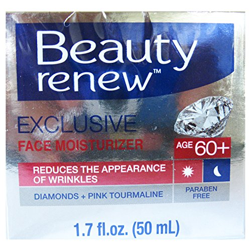 Price comparison product image Beauty Renew 60+ Exclusive Day & Night Face Moisturizer Cream Diamond and Pink Tourmaline