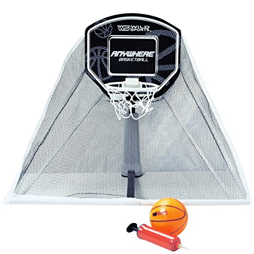 Wild Sports Anywhere Basketball Set