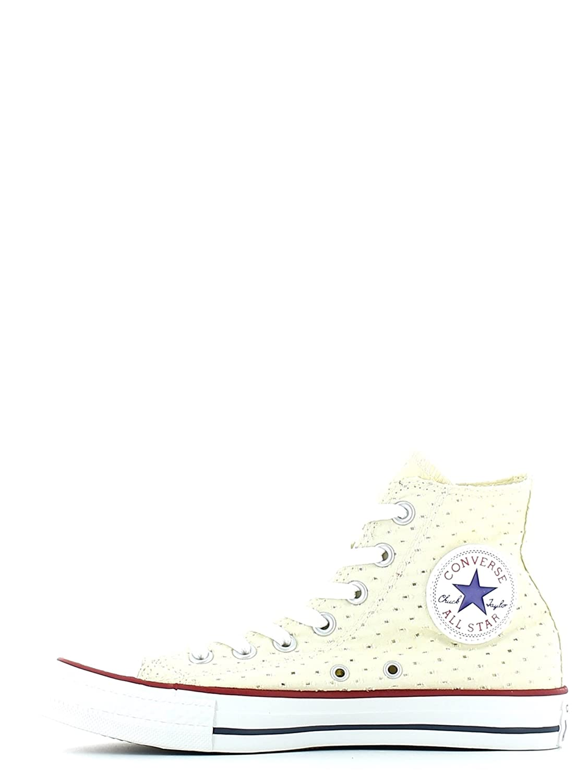 Converse Damen Schuhe Chucks All Star Chuck Taylor CT Hi Hellgelb Sneakers Gelb Größe 39,5