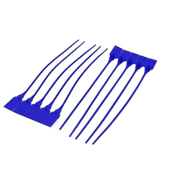 100 piezas Sujetacables de nailon cinchos autobloqueantes
