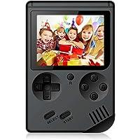 Baiyingwei Consolas de Juegos Portátil Game Console 3.0 Pulgadas Videojuegos Portátil con 168 Juegos para Niños Regalo Infantil