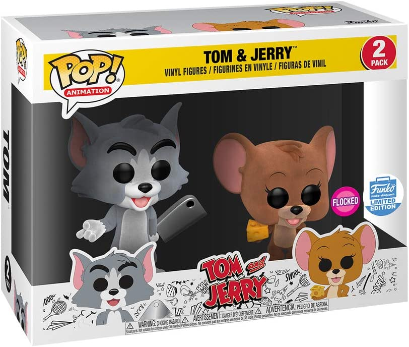 Funko Pop! Animación Tom & Jerry Flocked Two-Pack Edición Limitada Condition Box: Amazon.es: Juguetes y juegos