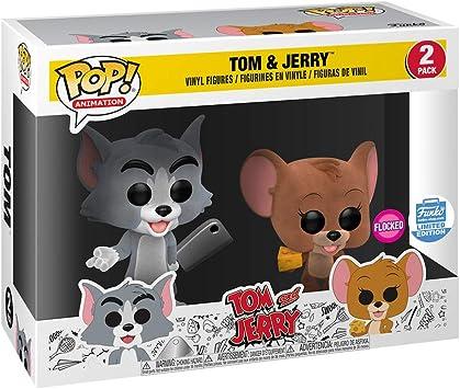 Funko Pop! Animación Tom & Jerry Flocked Two-Pack Edición Limitada ...