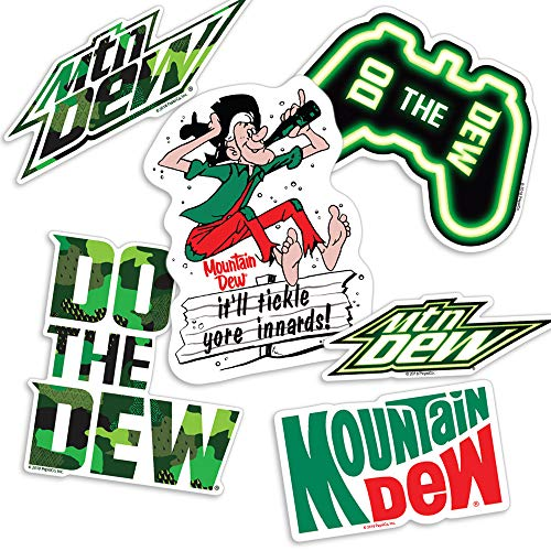 Popfunk Mountain Dew Do The Dew Collectible Stickers