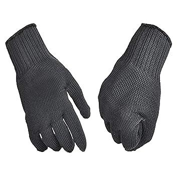 Schnittfeste Küche Sicherheitshandschuhe 5 Schutz Handschuhe Edelstahldraht DE Angelsport