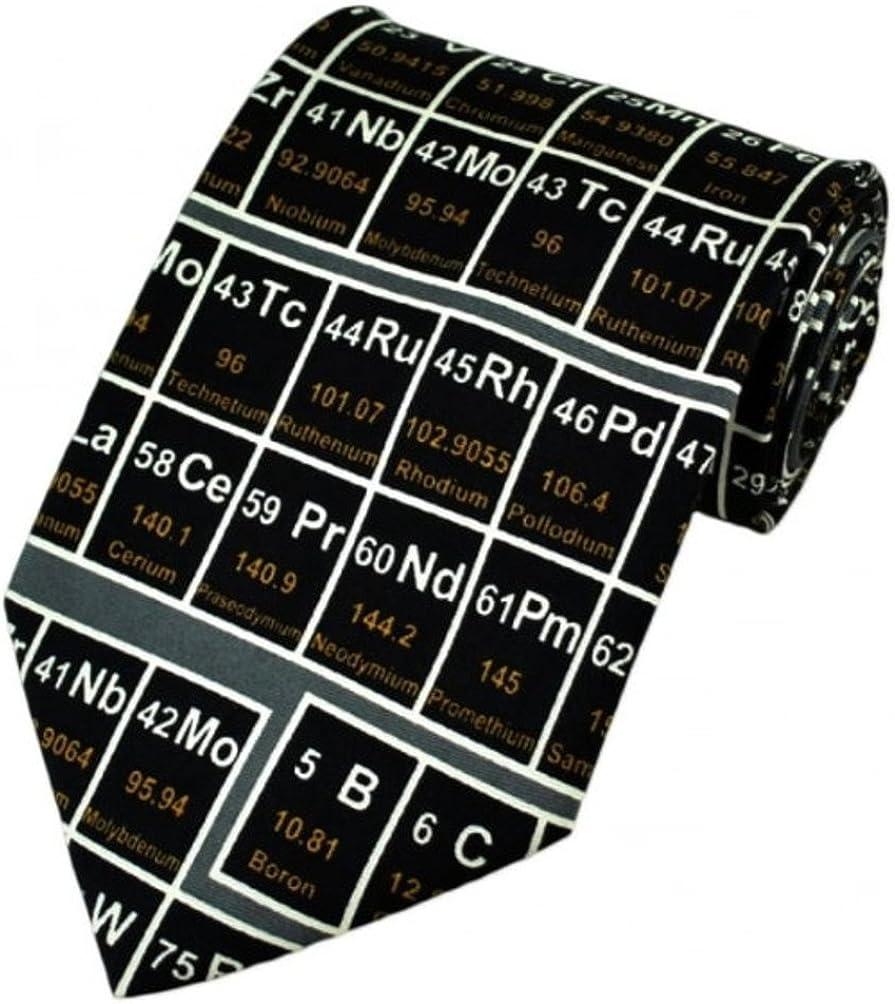 Unbekannt Tie94 Krawatte mit Periodensystem der Elemente