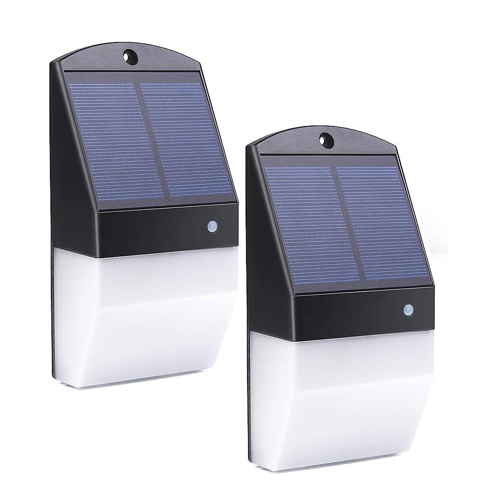ELlight Outdoor Solar Lights, 25 LED Solar Motion Sensor Light with Radar Sensor - 180 Degree Sensing Angle, Waterproof Solar Security Light for Front Door/Outdoor Wall/Step/Back Yard/Garage by ELlight