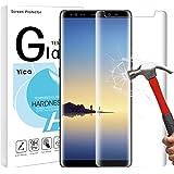 Galaxy Note 8 Protection d'écran en verre [3d], Yica Note 8 Protection d'écran en verre trempé pour Samsung Galaxy Note 8 [Compatible avec Cases] Dureté de 9H, Bubble Gratuit