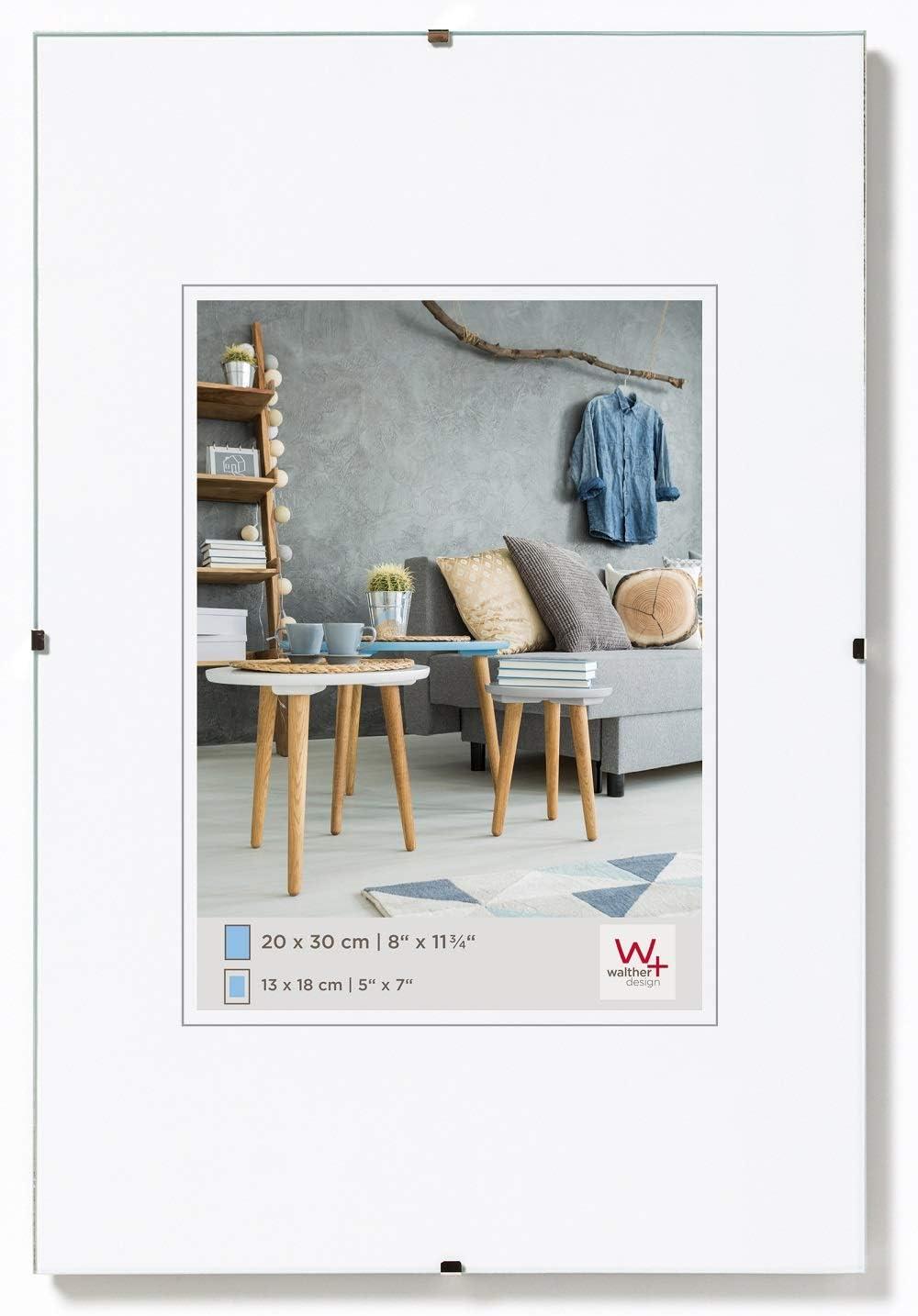 Walther Design Porta imágenes sin Marco Fotos, antirreflectante, 60X90 Cm