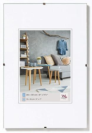 Amazon De Walther Design Rb342a Rahmenlose Bildhalter 29 7x42 Cm