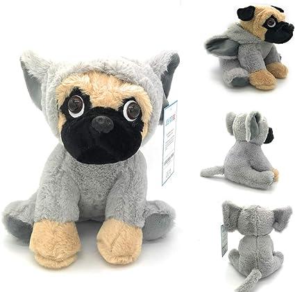 Realistic Pug Stuffed Animal, Amazon Com Joyamigo Stuffed Pug Dog Puppy Soft Cuddly Animal Toy In Elephant Costumes Super Cute Quality Teddy Plush 10 Inch Elephant Toys Games
