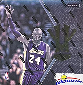 Kobe Bryant 2016 Panini Hero Villain Limited Edition Factory Sealed 47 Card Box Set! Celebrates Black Mamba's Legendary Lakers Career with 5 NBA Championships! Look for Rare $500 Kobe Bryant AUTOGRAPH