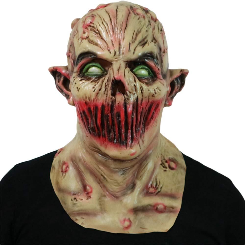 Circlefly Haunted Halloween casa Horror apoyos mutante cráneo Demonio máscara Walking Dead Cuerpo Cabeza Vampiro Zombie Peluca