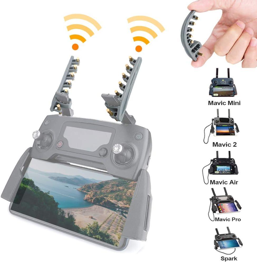 O'woda Yagi-UDA Antenna Amplifier Signal Booster Transmitter Universal Range Extender for DJI Mavic Air/Mini/Mavic 2 Pro/Spark/Phantom/Xiaomi FIMI X8SE Remote Control (Not for Mavic AIR 2)
