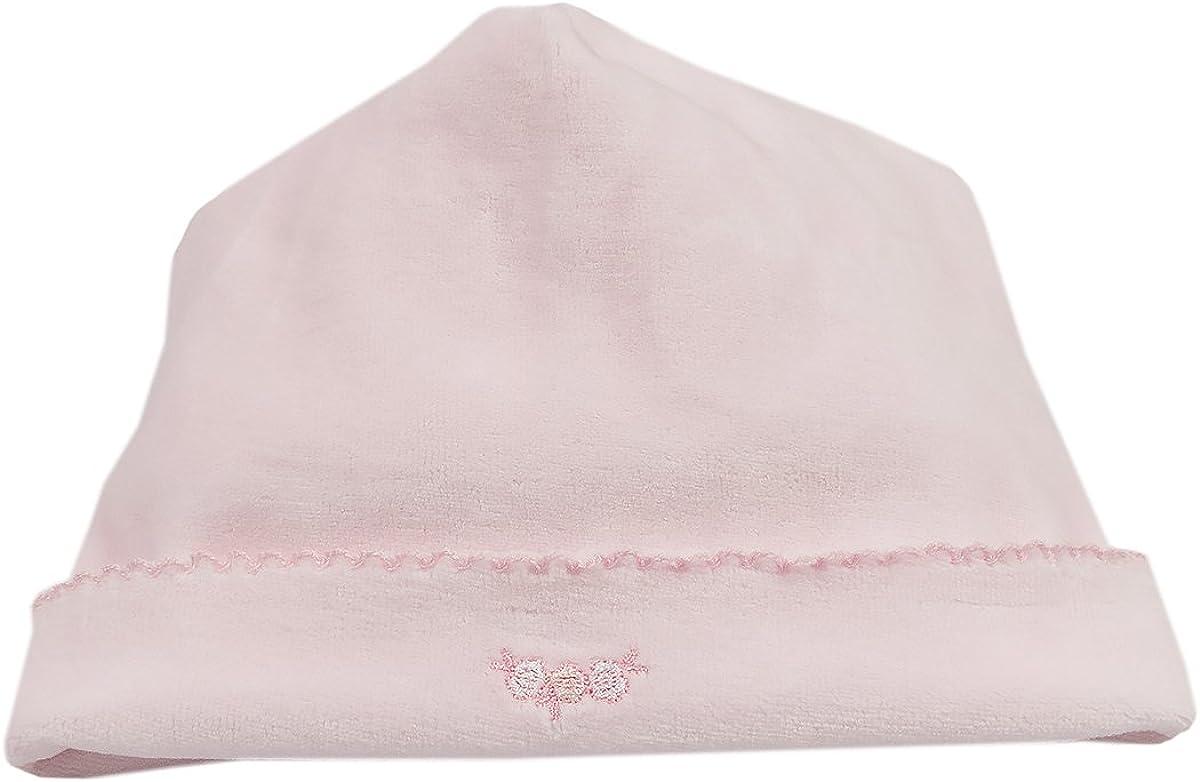 Kissy Kissy Baby Girls Rockabye Buggy Velour Hat Pink