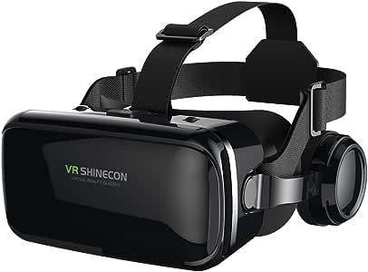 FIYAPOO 3D VR Gafas de Realidad Virtual, VR Glasses Visión ...