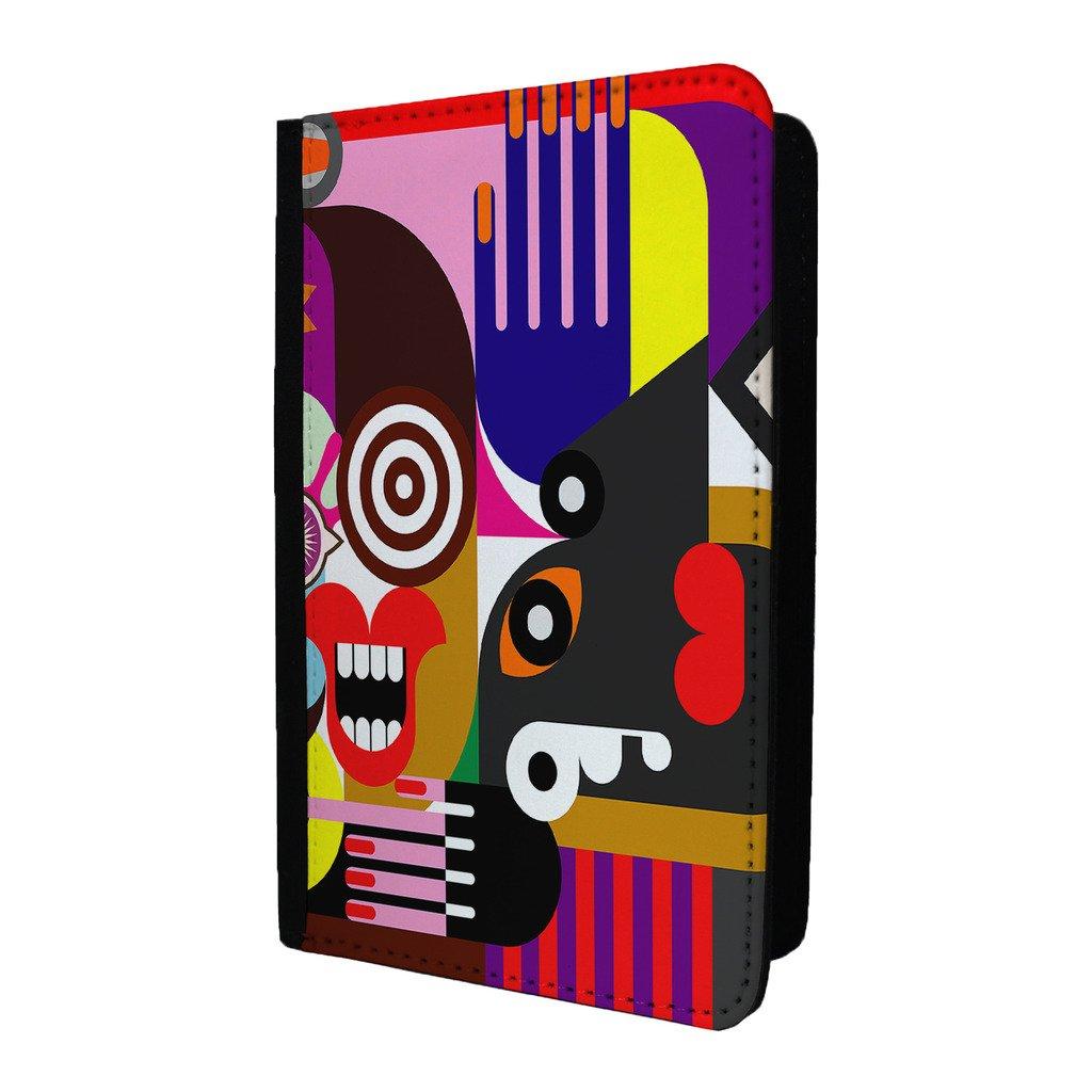 personnes Art abstrait passeport Coque–S348