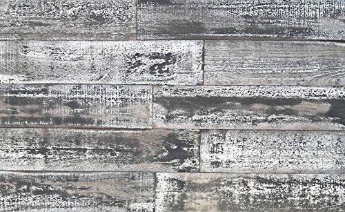 Antique Whitewash Wood - Smart Paneling 11140 5
