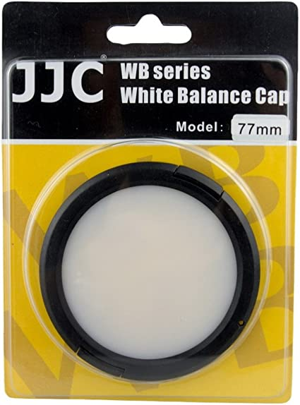 JJC WB-52 Tapa delantera de 52mm Balance Blancos Objetivos Cámaras
