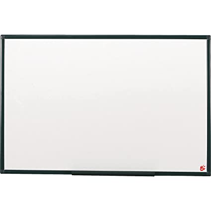 5 Star 424119 - Pizarra blanca (900 x 600 mm), color blanco